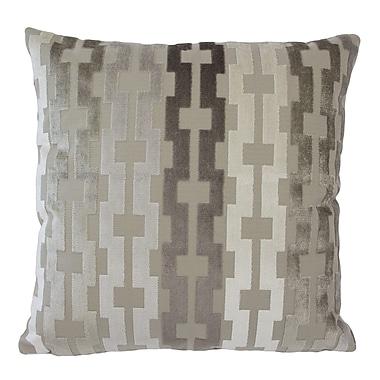 Piper Collection Link Velvet Throw Pillow