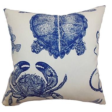 The Pillow Collection Emilia Animals Cotton Throw Pillow; 24'' x 24''
