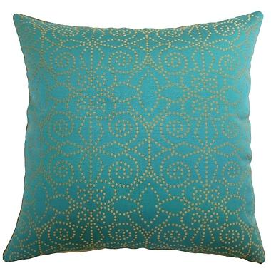 The Pillow Collection Makemo Dots Throw Pillow; 22'' x 22''