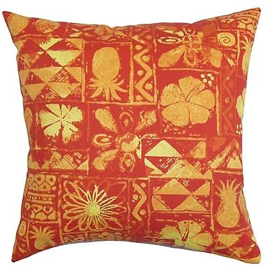 The Pillow Collection Gleda FabricThrow Pillow; 22'' x 22''