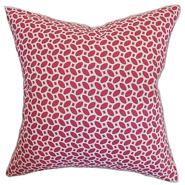 The Pillow Collection Zlin Cotton Throw Pillow; 22'' x 22''
