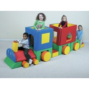 Children's Factory Primary 20 Piece Little Train w/ Caboose Set