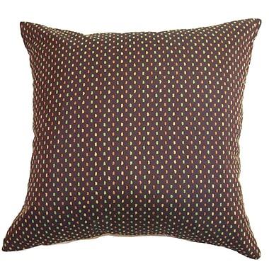 The Pillow Collection Landon Dots Throw Pillow; 22'' x 22''