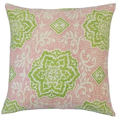 The Pillow Collection Yelimane Geometric Cotton Throw Pillow; 22'' x 22''