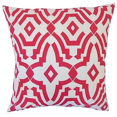 The Pillow Collection Dephne Geometric Cotton Throw Pillow; 22'' x 22''