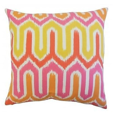 The Pillow Collection Safara Outdoor Throw Pillow; 24'' x 24''