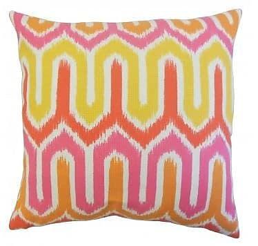 The Pillow Collection Safara Outdoor Throw Pillow; 22'' x 22''