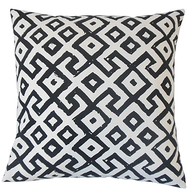 The Pillow Collection Rizwan Cotton Throw Pillow; 24'' x 24''
