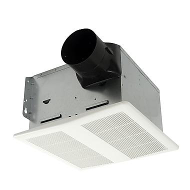 Cyclone HushTone 80 CFM Energy Star Bathroom Fan w/ Speed Controller
