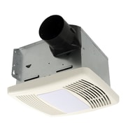 Cyclone HushTone 110 CFM Energy Star Bathroom Fan w/ Motion Sensor Combo
