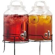 Style Setter 3 Piece Double Beverage Dispenser Set
