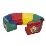 Children's Factory Primary 7 Piece Kids Seating Modular Set