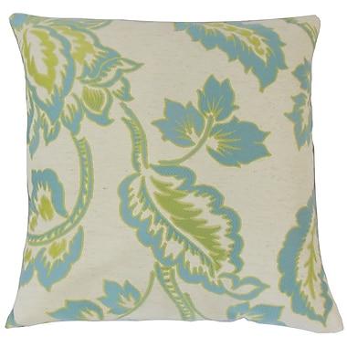 The Pillow Collection Altessa Floral Throw Pillow; 22'' x 22''