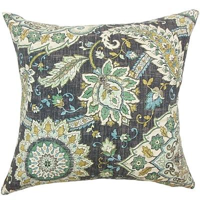 The Pillow Collection Amadea Floral Throw Pillow; 22'' x 22''
