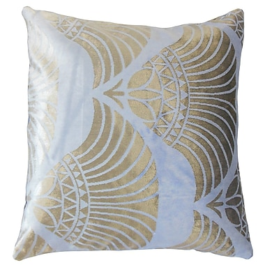 The Pillow Collection Parvaneh Geometric Throw Pillow; 24'' x 24''