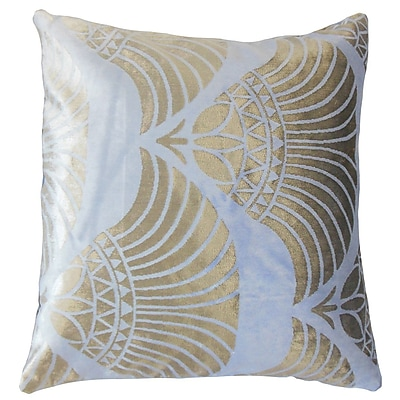 The Pillow Collection Parvaneh Geometric Throw Pillow; 22'' x 22''