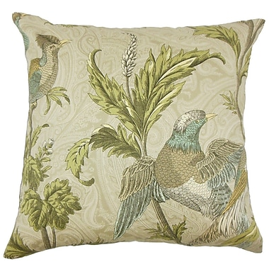 The Pillow Collection Dayaa Graphic Cotton Throw Pillow; 24'' x 24''