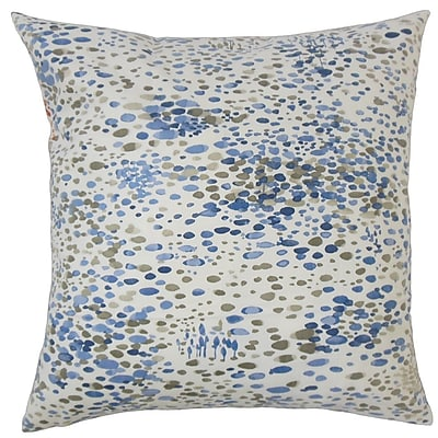 The Pillow Collection Adelheid Geometric Cotton Throw Pillow; 24'' x 24''