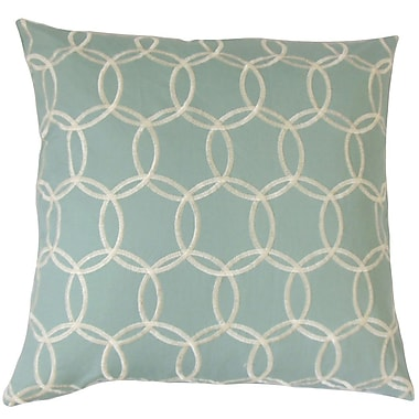 The Pillow Collection Capucine Geometric Throw Pillow; 24'' x 24''