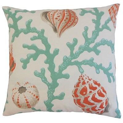 The Pillow Collection Kaelem Outdoor Throw Pillow; 24'' x 24''