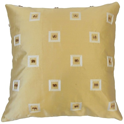 The Pillow Collection Quynh Geometric Throw Pillow; 22'' x 22''