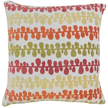 The Pillow Collection Qwara Geometric Throw Pillow; 24'' x 24''