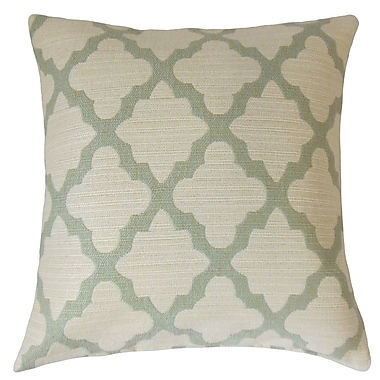 The Pillow Collection Ferrol Geometric Throw Pillow; 22'' x 22''