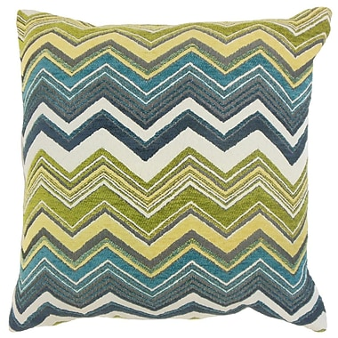 The Pillow Collection Hateya Zigzag Throw Pillow; 22'' x 22''