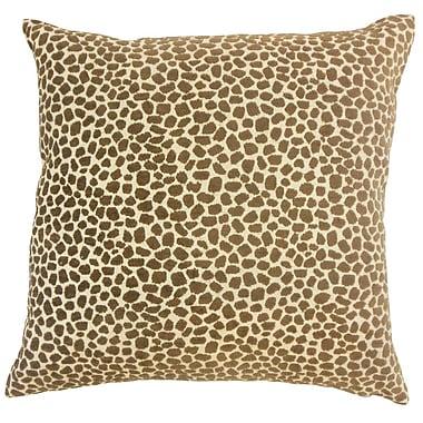 The Pillow Collection Meltem Animal Print Throw Pillow; 24'' x 24''