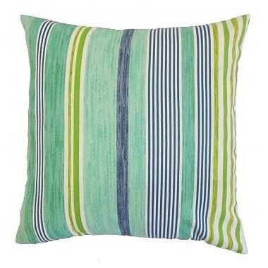 The Pillow Collection Baird Outdoor Throw Pillow; 24'' x 24''