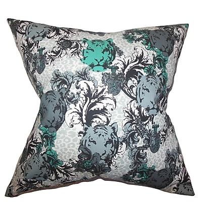 The Pillow Collection Eavan Floral Cotton Throw Pillow; 22'' x 22''