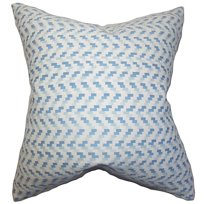The Pillow Collection Varsha Geometric Cotton Throw Pillow; 22'' x 22''