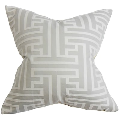 The Pillow Collection Roscoe Geometric Throw Pillow; 24'' x 24''