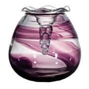OK Lighting Nastro Viola Glass Vase