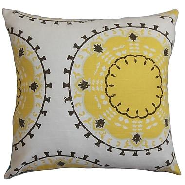 The Pillow Collection Edolie Cotton Throw Pillow; 22'' x 22''