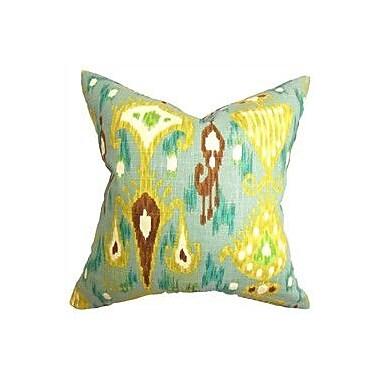 The Pillow Collection Hartigan Ikat Throw Pillow; 24'' x 24''