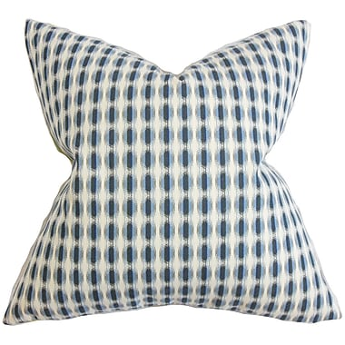 The Pillow Collection Italo Geometric Cotton Throw Pillow; 22'' x 22''