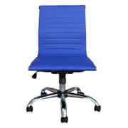 Winport Industries Mid-Back Desk Chair; Blue