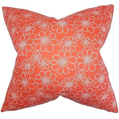 The Pillow Collection Lalita Floral Throw Pillow; 24'' x 24''