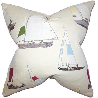 The Pillow Collection Sami Coastal Throw Pillow; 22'' x 22''