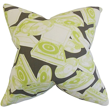 The Pillow Collection Pascoe Geometric Cotton Throw Pillow; 24'' x 24''