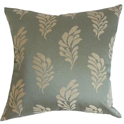 The Pillow Collection Enchanter Floral Throw Pillow; 24'' x 24''
