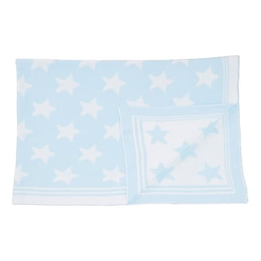 Tots Fifth Avenue Star Blanket Blue