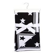 B&W Star Blanket