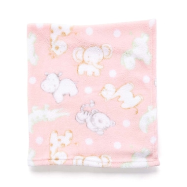 Baby Mode – Couverture de peluche AOP, rose