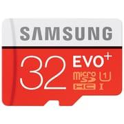 Samsung EVO+ MicroSDHC Memory Card w/ Adapter 32GB