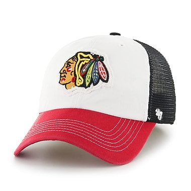 47 Brand – Casquette Privateer des Blackhawks de Chicago, moyen/grand (40382-M)