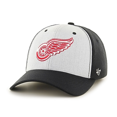 47 Brand – Casquette Backstop des Red Wings de Détroit, grand/très grand (40402-L)