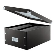Vaultz Snap-N-Store™ 330 Disc Storage Box, Black