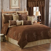 Browning Buckmark Comforter Set; Full
